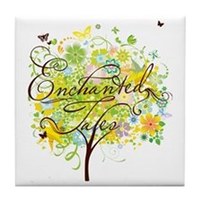 YTN_Enchanted_tshirt_Front Tile Coaster