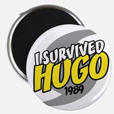 I Survived Hugo Hurricane South Carolina Magnet