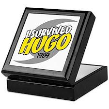 I Survived Hugo Hurricane South Carol Keepsake Box