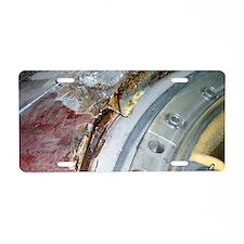 Vostok 1 heat insulation Aluminum License Plate
