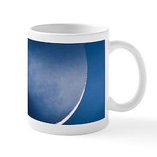 Waning crescent moon Mug