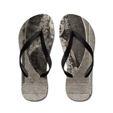 Voltaire, French author Flip Flops