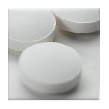 Vitamin C tablets Tile Coaster