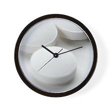 Vitamin C tablets Wall Clock