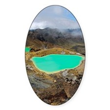 Volcanic lakes, New Zealand Decal