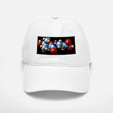 Vitamin B5, molecular model Baseball Baseball Cap