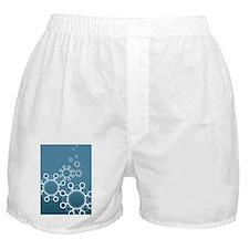 Virus particles, conceptual artwork Boxer Shorts