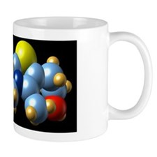 Vitamin B1, molecular model Mug