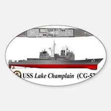 USS Lake Champlain (CG-57) Decal