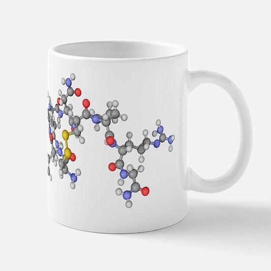 Vasopressin hormone molecule Mug