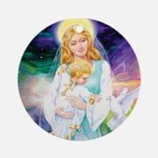 The Universal Mother Round Ornament