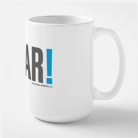 #WAR! Large Mug