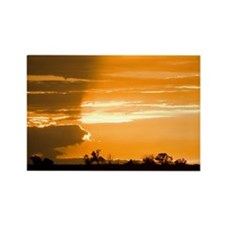 Sunset on The Prairie Rectangle Magnet