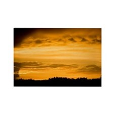 Sunset after The Storm Rectangle Magnet