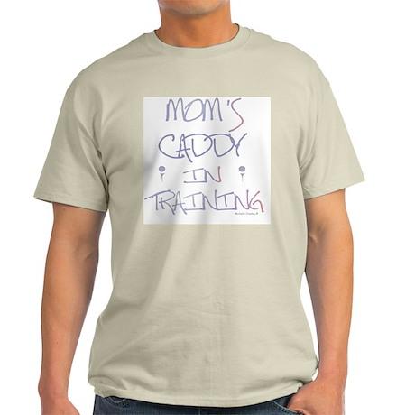 golf - moms caddy in training Light T-Shirt