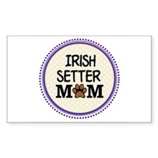 Irish Setter Dog Mom Decal