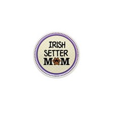 Irish Setter Dog Mom Mini Button