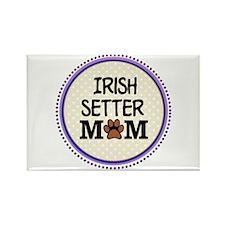 Irish Setter Dog Mom Magnets