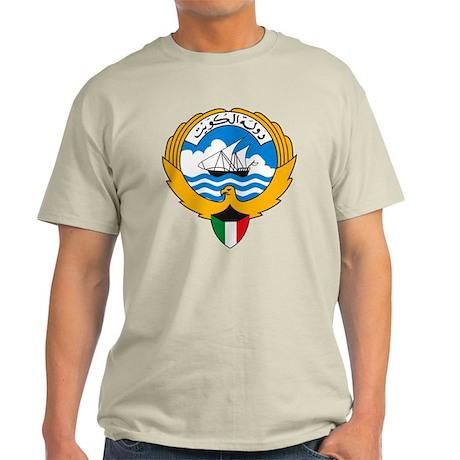 Kuwait Coat of Arms Light T-Shirt