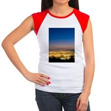 Vancouver at night, tim Women's Cap Sleeve T-Shirt