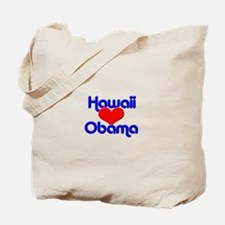Hawaii For Obama Tote Bag