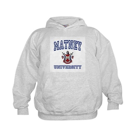 MATNEY University Kids Hoodie