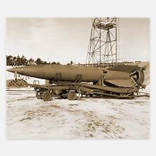 V-2 rocket King Duvet