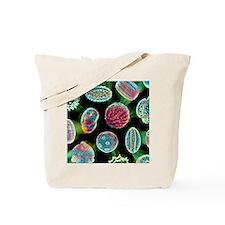 Various pollen grains Tote Bag