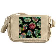 Various pollen grains Messenger Bag
