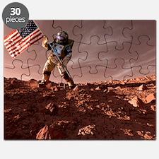 US exploration of Mars, artwork Puzzle