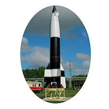 V-2 rocket display, Peenemunde Oval Ornament