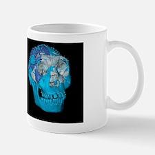 Turkana boy skulls, 3D computer image Mug