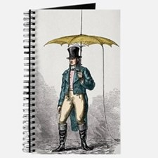Umbrella fitted with lightning conductor Journal