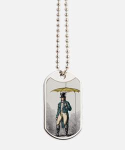 Umbrella fitted with lightning conductor Dog Tags