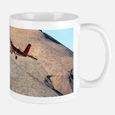 Twin Otter aircraft landing Small Mugs