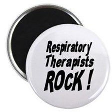 "Respiratory Therapists Rock ! 2.25"" Magnet (10 pac"
