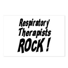 Respiratory Therapists Rock ! Postcards (Package o
