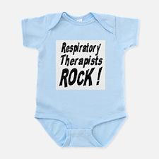 Respiratory Therapists Rock ! Infant Bodysuit