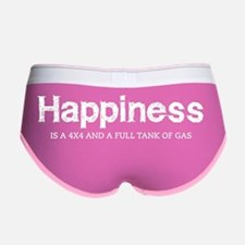 Happiness is a 4x4 and a full ta Women's Boy Brief