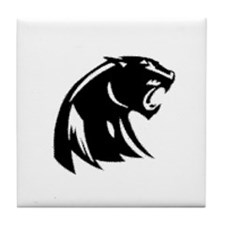 Black Panthers Tile Coaster