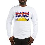 British Columbia Flag Long Sleeve T-Shir