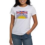 British Columbia Flag Women's T-Shirt