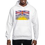 British Columbia Flag Hooded Sweatshirt