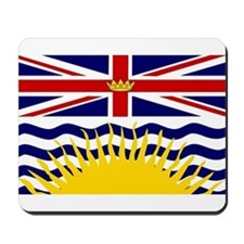 British Columbia Flag Mousepad