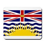 British Columbia Flag Mousepad
