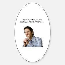 Cute Joel Sticker (Oval)