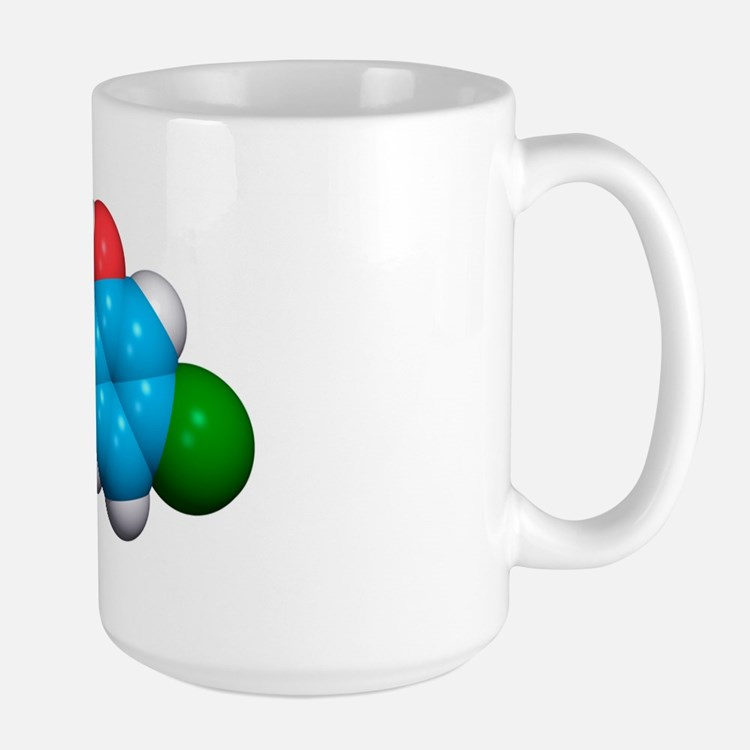 Triclosan antibiotic drug molecule Mug
