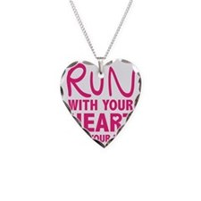 Run with your Heart Necklace