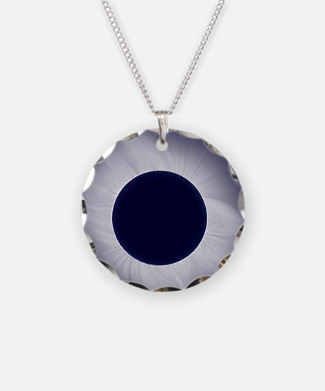 Total solar eclipse at total Necklace
