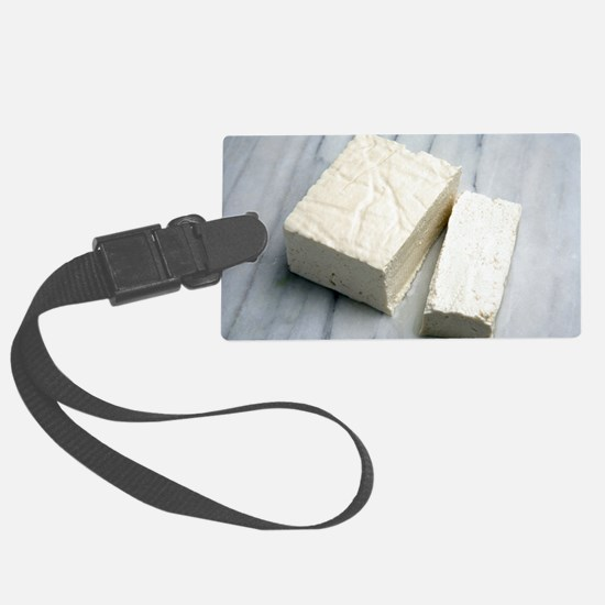 Tofu Luggage Tag